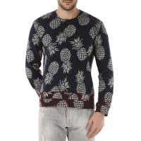 ValentinoSweatshirt für Herren, Kapuzenpulli, Hoodie, Sweats Günstig im Outlet Sale, Blau, Baumwolle, 2016, L M S