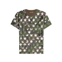 ValentinoT-shirt en coton à imprimés Camustars