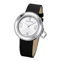 Van Cleef & ArpelsWhite Gold Charms Watch with Diamonds, 38mm