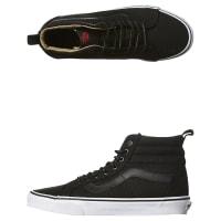 VansSk8 Hi Reissue Pt Military Twill Shoe Black