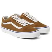 VansOg Old Skool Lx Suede And Canvas Sneakers - Tan