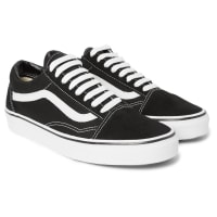 VansOld Skool Canvas And Suede Sneakers - Black