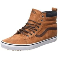 VansU SK8-HI, Zapatillas Altas Unisex, Marrón (MTE glazed ginger/plaid), 36.5 EU