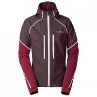 VaudeLarice Jacket II Softshelljacke für Damen | lila/schwarz/rot
