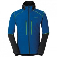 VaudeLarice Jacket II Softshelljacke für Herren | blau/schwarz