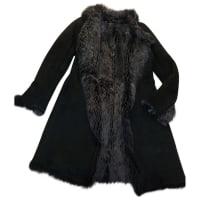 VentcouvertSegunda mano - Abrigo en Fur Negro