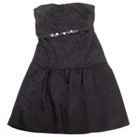Vera WangPre-Owned - Black Silk Dress