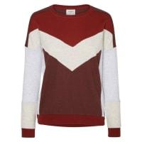 Vero ModaLangärmeliges Sweatshirt, braun, Decadent Chocolate