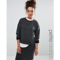 Vero Moda PetiteKurzes Sweatshirt - Grau