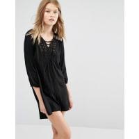 Vero ModaTunic Dress - Black