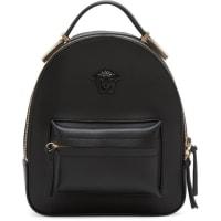 VersaceBlack Mini Medusa Backpack