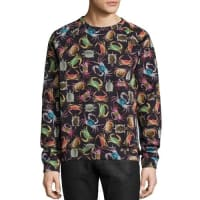 Versace CollectionCrab-Print Crewneck Sweatshirt, Black Multi