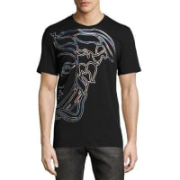 Versace CollectionHologram Medusa T-Shirt, Black