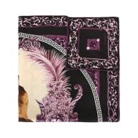 Versace CollectionLenço de seda estampado