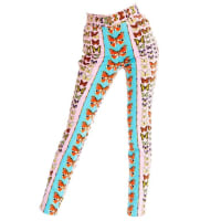 VersaceCouture Iconic Butterfly Jeans