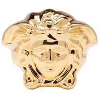VersaceGold Large Medusa Ring