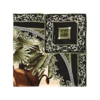 VersaceLenço de seda estampado