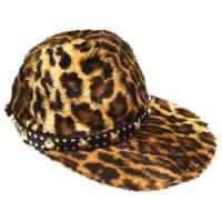 VersaceRare 1990s Gianni Versace Faux Leopard Medusa Hat