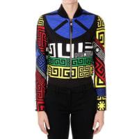 VersaceShort Mixed Wool and Silk Jacket Herbst/Winter