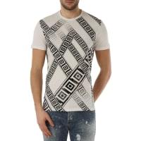 VersaceT-Shirt for Men, White, Cotton, 2016, S XL XS XXL