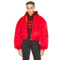 VETEMENTSBomber Jacket in Red