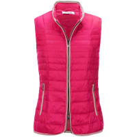 FrappQuilted gilet from FRAPP red