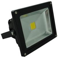 Vibe LightingLED Flood Light Exterior Black Aluminium 20W in 4000K 18cm Vibe