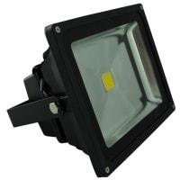 Vibe LightingLED Flood Light Exterior Black Aluminium 30W in 4000K 23cm Vibe