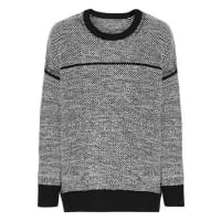 VinceTextured Wool-blend Sweater - Off-white