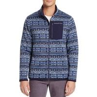 Vineyard VinesFair Isle Better Sweater Fleece Zip Jacket