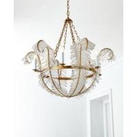 Visual ComfortFeather 6-Light Chandelier