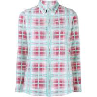 VisvimWally Check Shirt, Womens, Size: Large, Red, Cotton