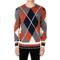 Vivienne WestwoodMixed Mohair and Wool Round Neck Sweater Herbst/Winter