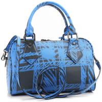 Vivienne WestwoodHenkeltasche für Damen, Blau, Beschichtetes Kanvas, 2016