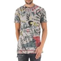 Vivienne WestwoodT-shirt Homme Pas cher en Soldes, Gris moyen, Coton, 2016, L M S XL XXL
