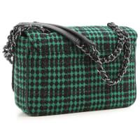 Vivienne WestwoodUmhängetasche für Damen, Anglomania, Grün, Baumwolle, 2016