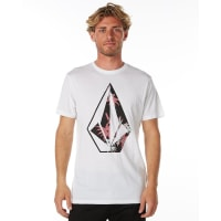 VolcomLogo Fill Mens Tee White