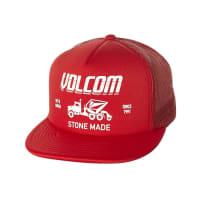 VolcomMack Cheese Trucker Cap Red