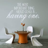 Wall ArtThe Most Important Thing Wall Sticker