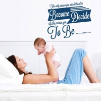 Wall ArtThe Only Person You Are Destined Wall Sticker