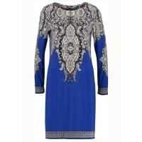 WallisLong sleeved top blue