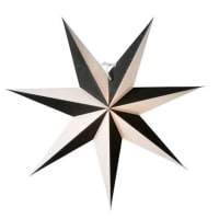 Watt&VekeHarlekin slim star black Ø 60 cm