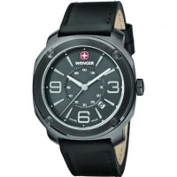 Wenger01.1051.108 Mens Quartz Watch With Leather Strap