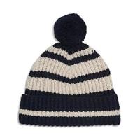 WhistlesDana Breton Stripe Hat with Pom-Pom