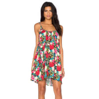 WildfoxFloral Shift Dress in Black