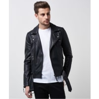 William BaxterStevie Leather Jacket Black