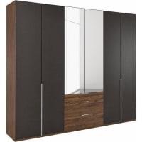 Wimexgarderobekast met spiegeldeuren en laden »New York«