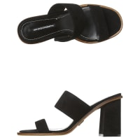 Windsor SmithTarny Womens Suede Mule Black