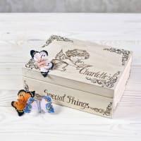 Wooden Toy GalleryAngel And Dove Personalised Keepsake Box
