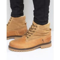 WranglerCreek Fold Over Boots - Beige